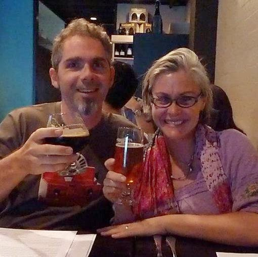 The Home Brewligans; Greg & Cheryl