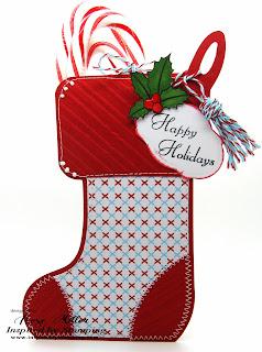 Inspired by Stamping, Rose Miller, Elegant Christmas stamp set