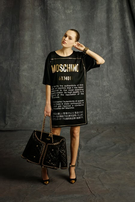 MOSCHINO JACKET BAG JEREMY SCOTT