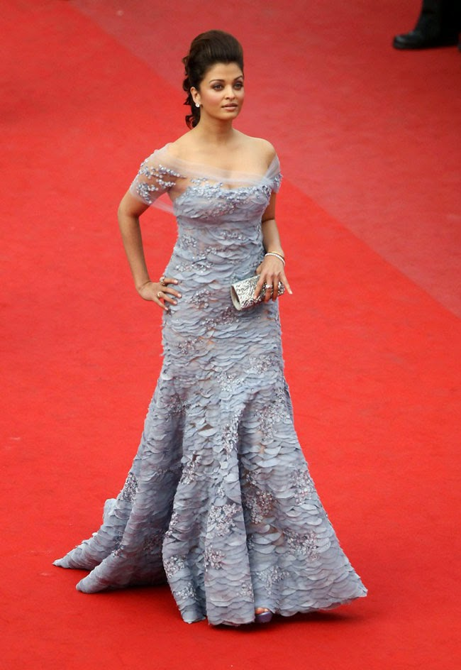 Aishwarya Rai at 63rd edition of Cannes film festival in 2010