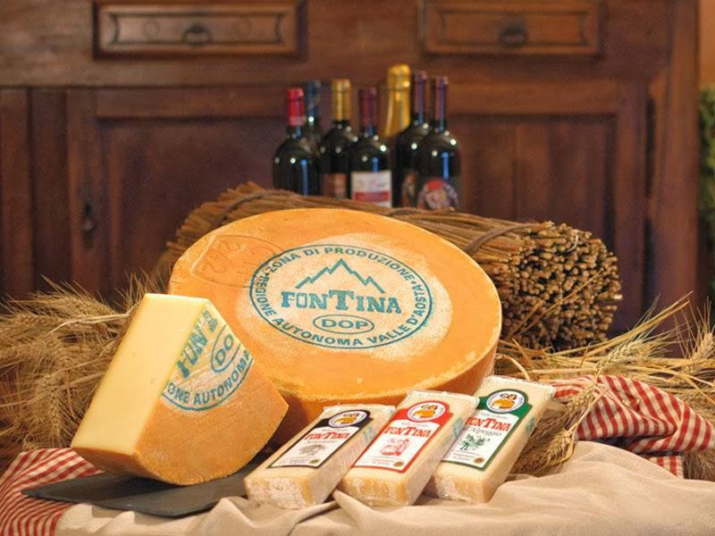 Итальянский сыр Фонтина