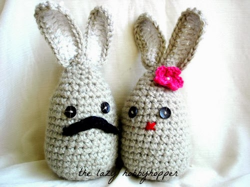 Mr and Mrs Bernard Bunny