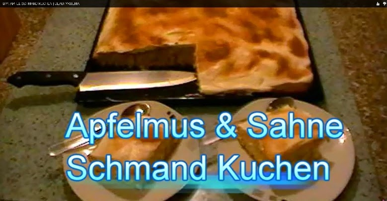 Apfelmus Sahne Schmand Kuchen