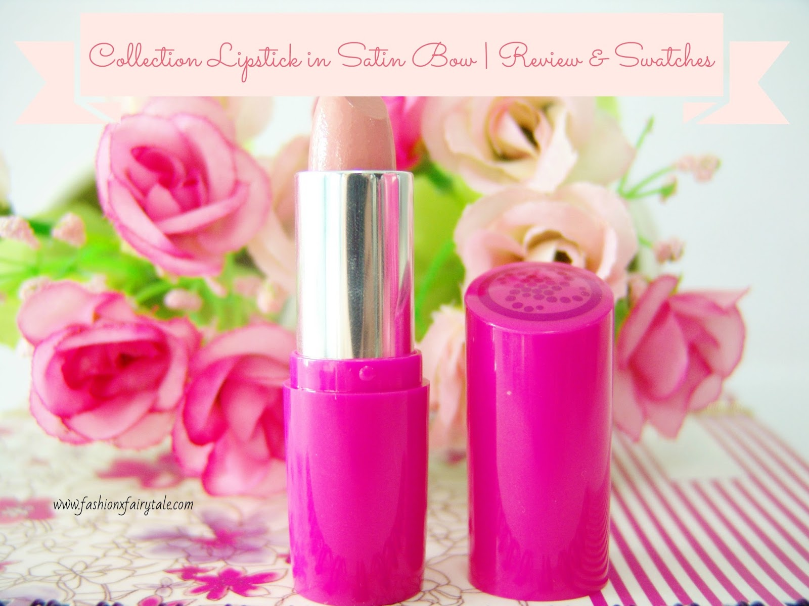 Collection Volume Sensation Lipstick in Satin Bow | Review & Swatches