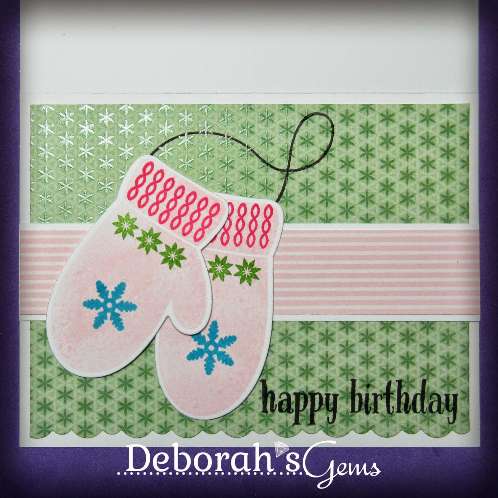 Winter Birthday Sq - photo by Deborah Frings - Deborah's Gems