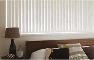 persiana en dormitorio