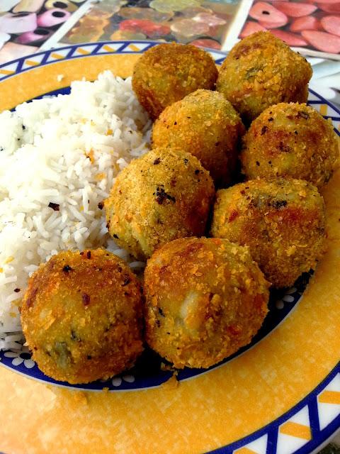 Vegspiration blog de inspiraci n vegana alb ndigas de - Albondigas de patata ...