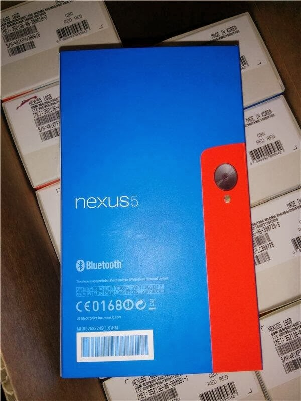 Red Nexus 5 caught on camera