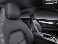 2011/2012 Mercedes C-Class Coupé (W 204) C 250 CDI Diesel Interior Front Seat official press media picture image photo