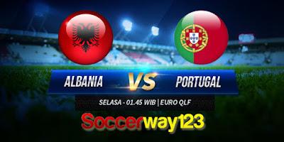 Prediksi Albania vs Portugal