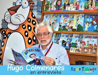 Hugo Colmenares en entrevista con Radio Talento