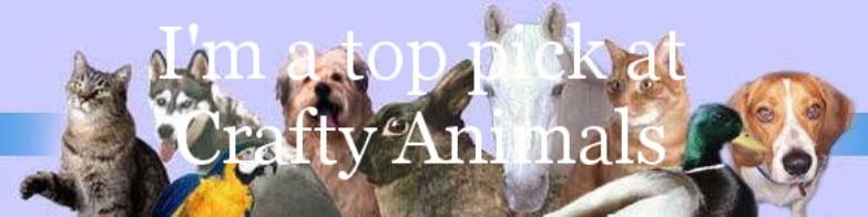 Top Pick at Crafty Animal Challenge Blog