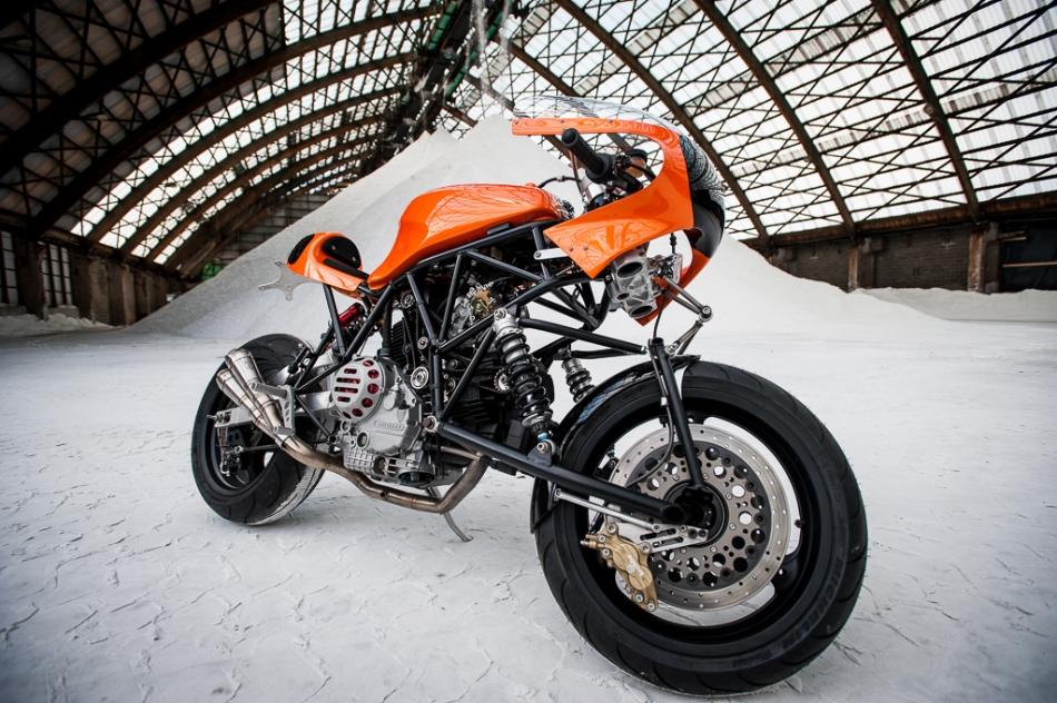 Racing Caf U00e8  Ducati 900 Ss  U0026quot Di Fazio U0026quot  By Bernard Mont