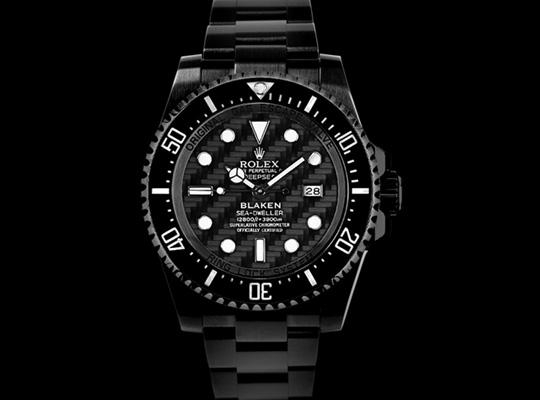 Blaken     Custom Rolex Watches with Diamond Like CoatingBlack Diamond Rolex Watches