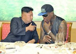 Dennis Rodman and Kim Jung Un