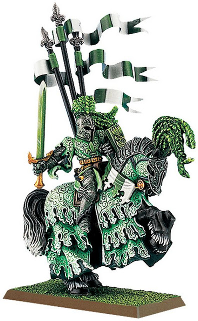 Bretonnian Green Knight is best Warhammer Character