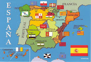 Very interesting map of Spain with all the autonomous communities and their .