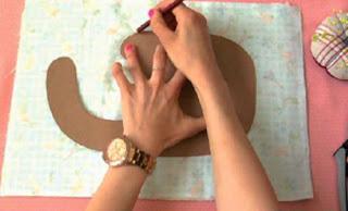 Como hacer un babero para bebes de 0 a 3 meses patrón de babero