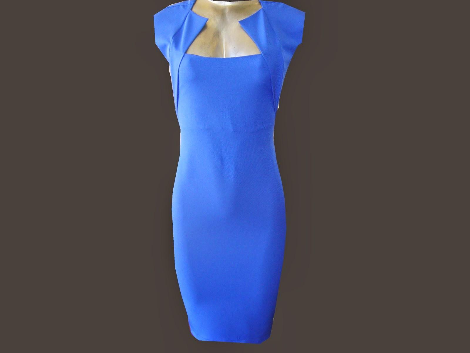 vestido tubinho de prada