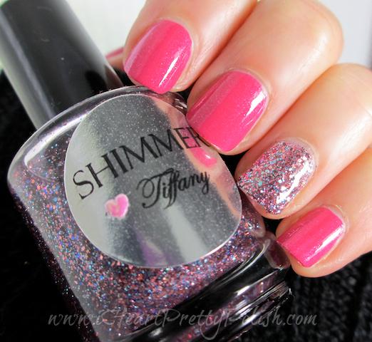 Etoile Pink Panache Shimmer Polish Tiffany