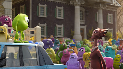 Monsters University Mike and Dean Hardscrabble