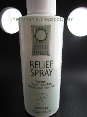 Iherb Relief Spray Desert Essence