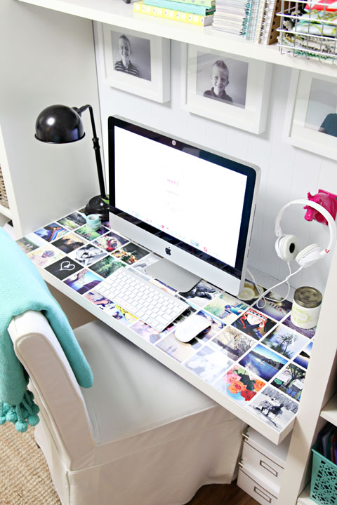 Decorating Ideas > IHeart Organizing A Little Desk Refresh ~ 210625_Organizing Your Dorm Room Ideas