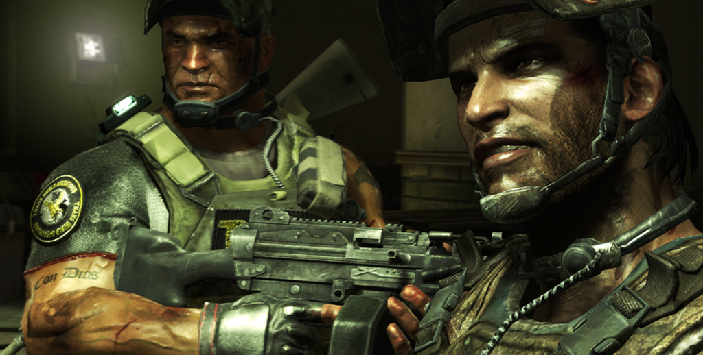 the pic wallpapers army of two the 40th day wallpaper