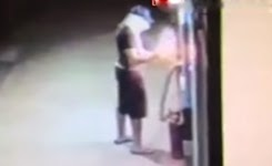 ATM theft backfires as masked man is knocked backwards by explosion