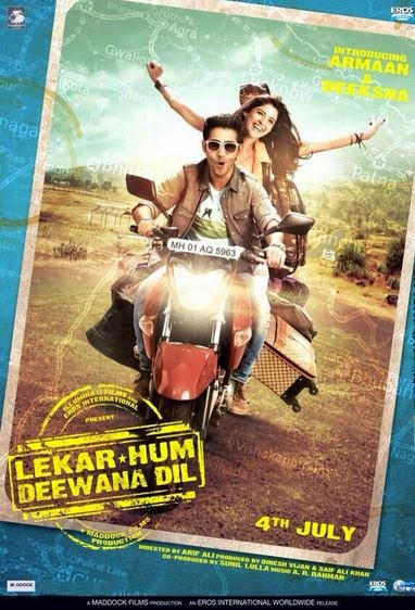 Watch Lekar Hum Deewana Dil (2014) Non Retail DVDRip Hindi Full Movie Watch Online Free Download