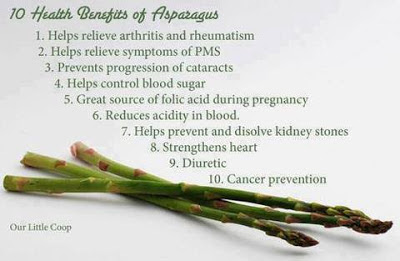 Why is asparagus good for you, health benefits of asparagus