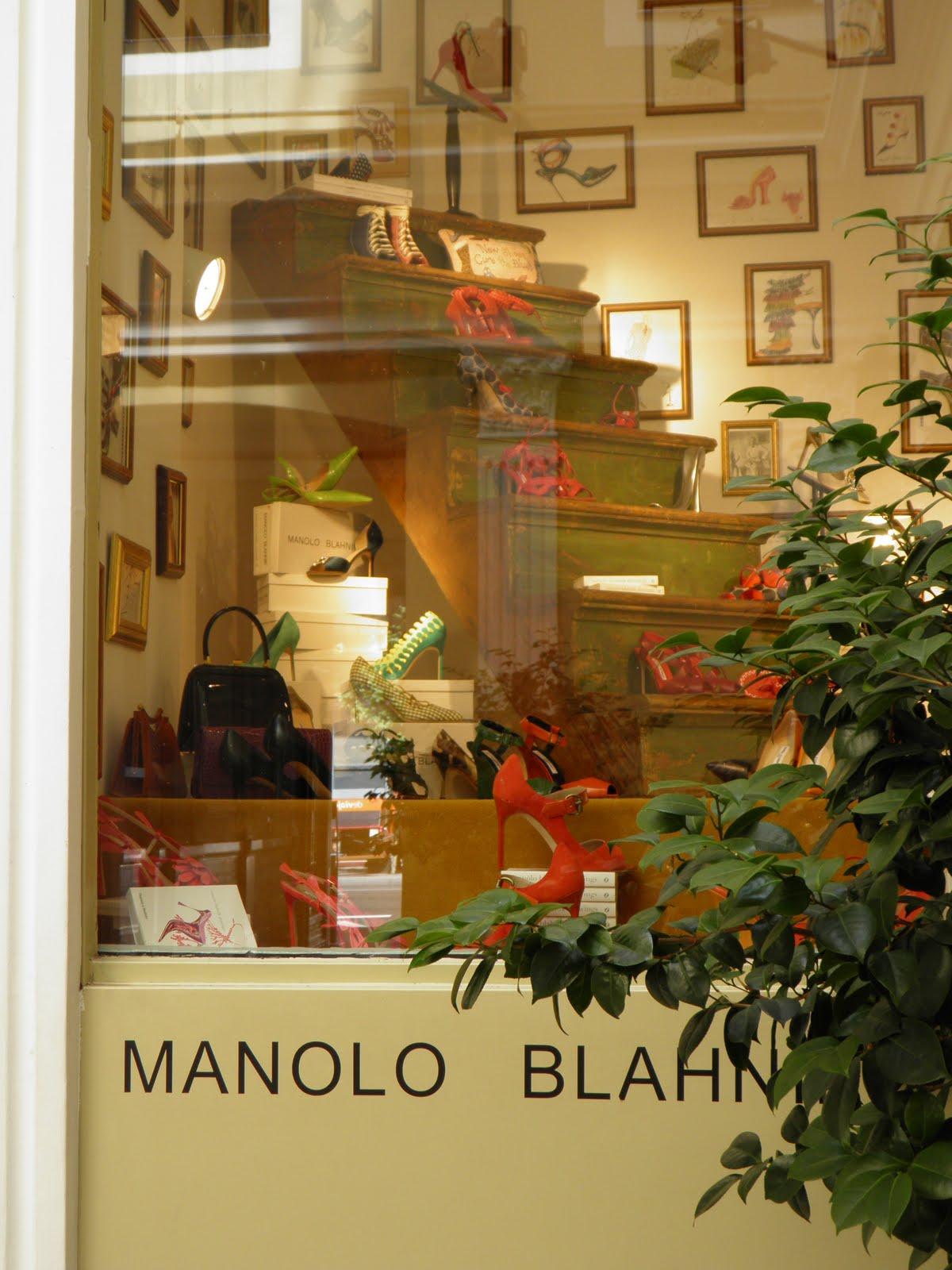 Tiendas Manolo Blahnik