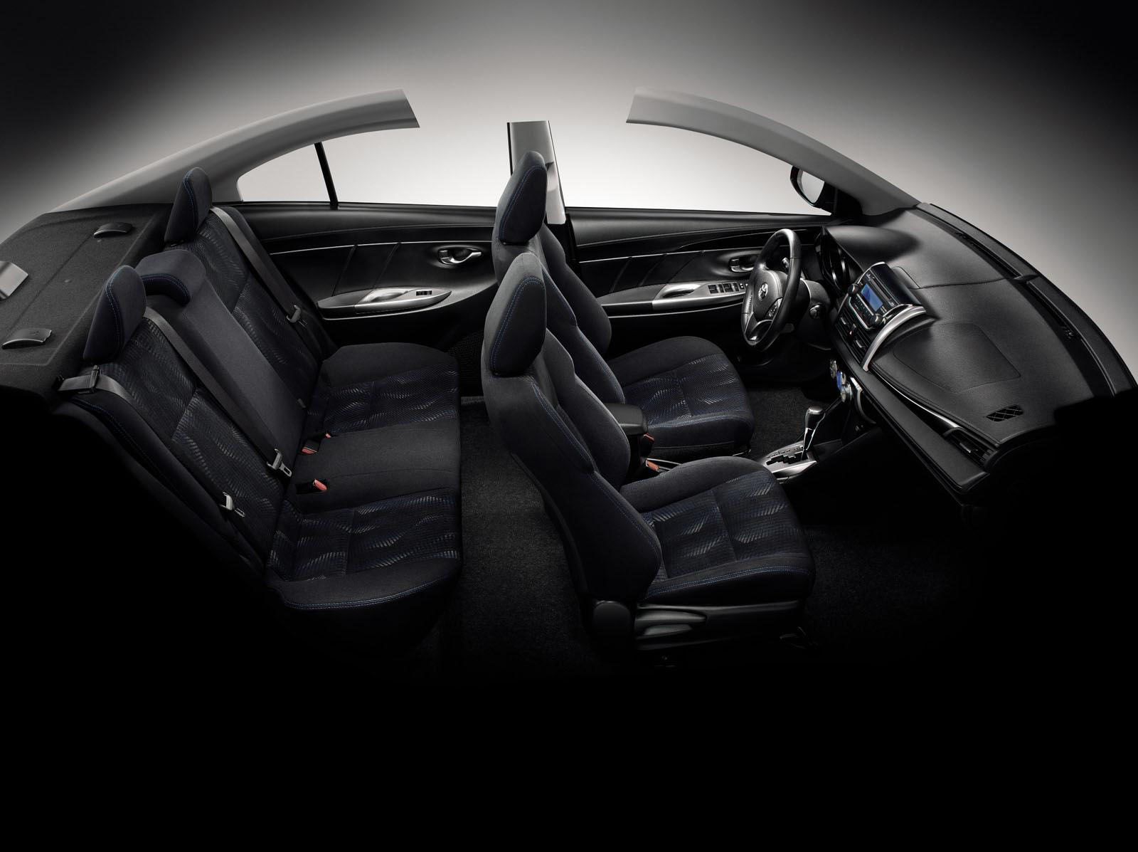 novo Toyota Vios 2014 interior 1