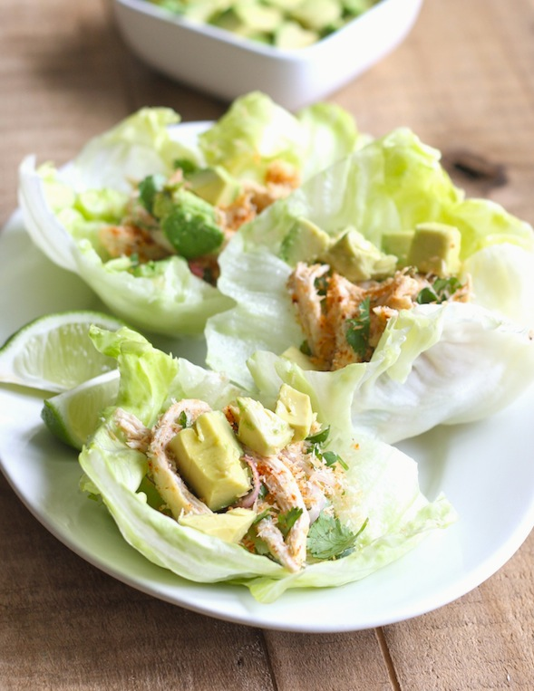 Toasted Coconut and Chicken Lettuce Wraps by SeasonWithSpice.com