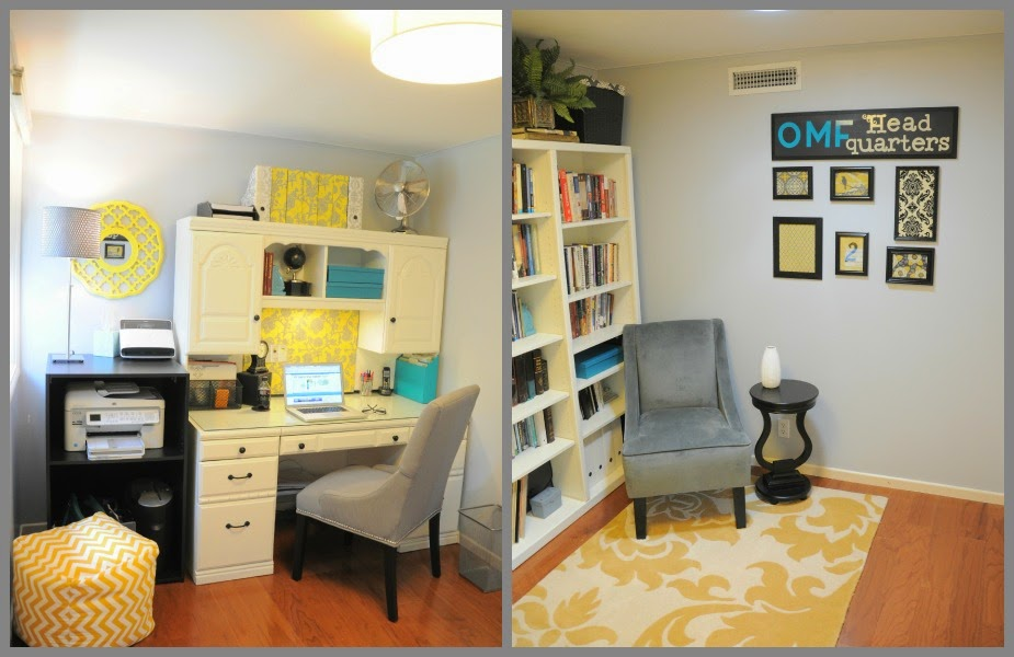 A Blogger's Organized Home Office :: OrganizingMadeFun.com