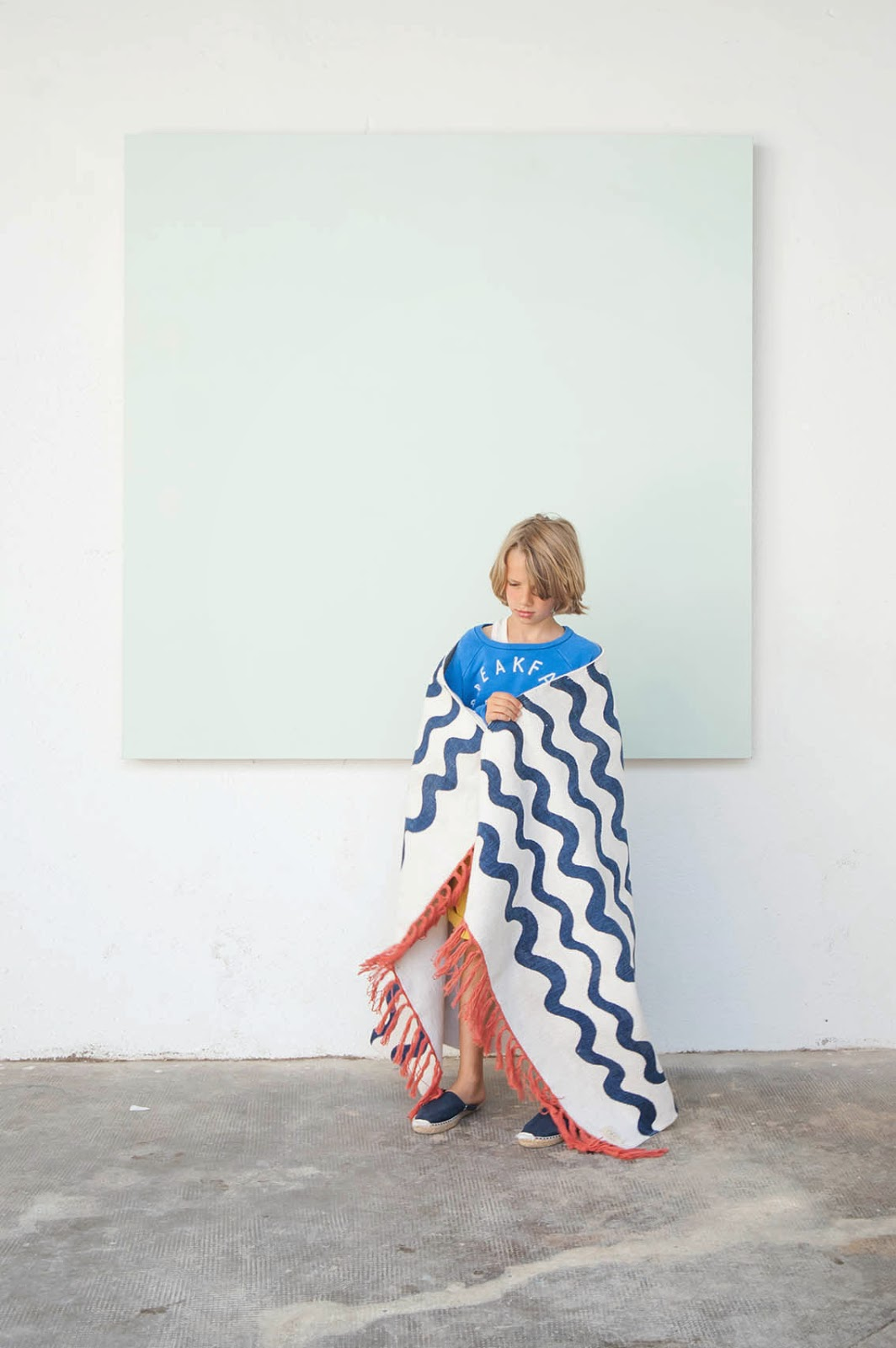 Bobo Choses Spring-Summer 2015 - waves rug