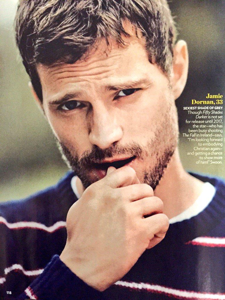 Jamie Dornan Life: Jamie in People Magazines Sexiest Man