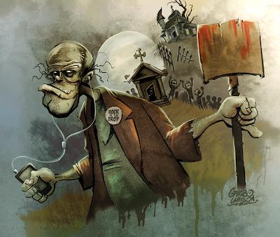 Illustrator Gregbo Watson