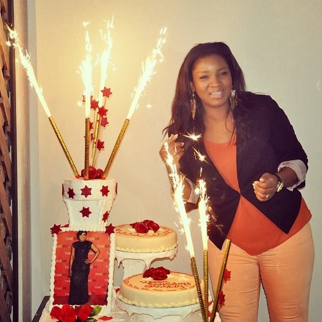 Kamify Blog: How Sweet!.. Omotola Ekehinde's Husband And