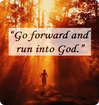 run into God
