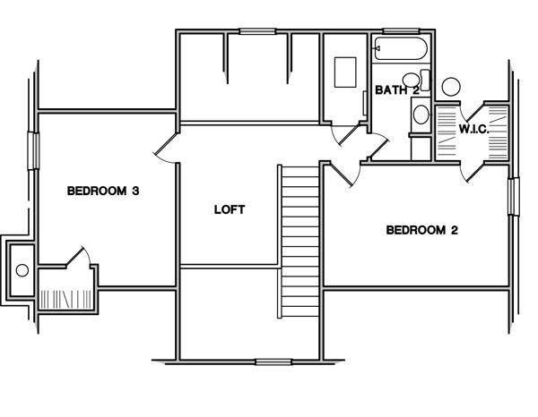Planos casas modernas planos de casas tipo americano for Planos de cocinas tipo americano