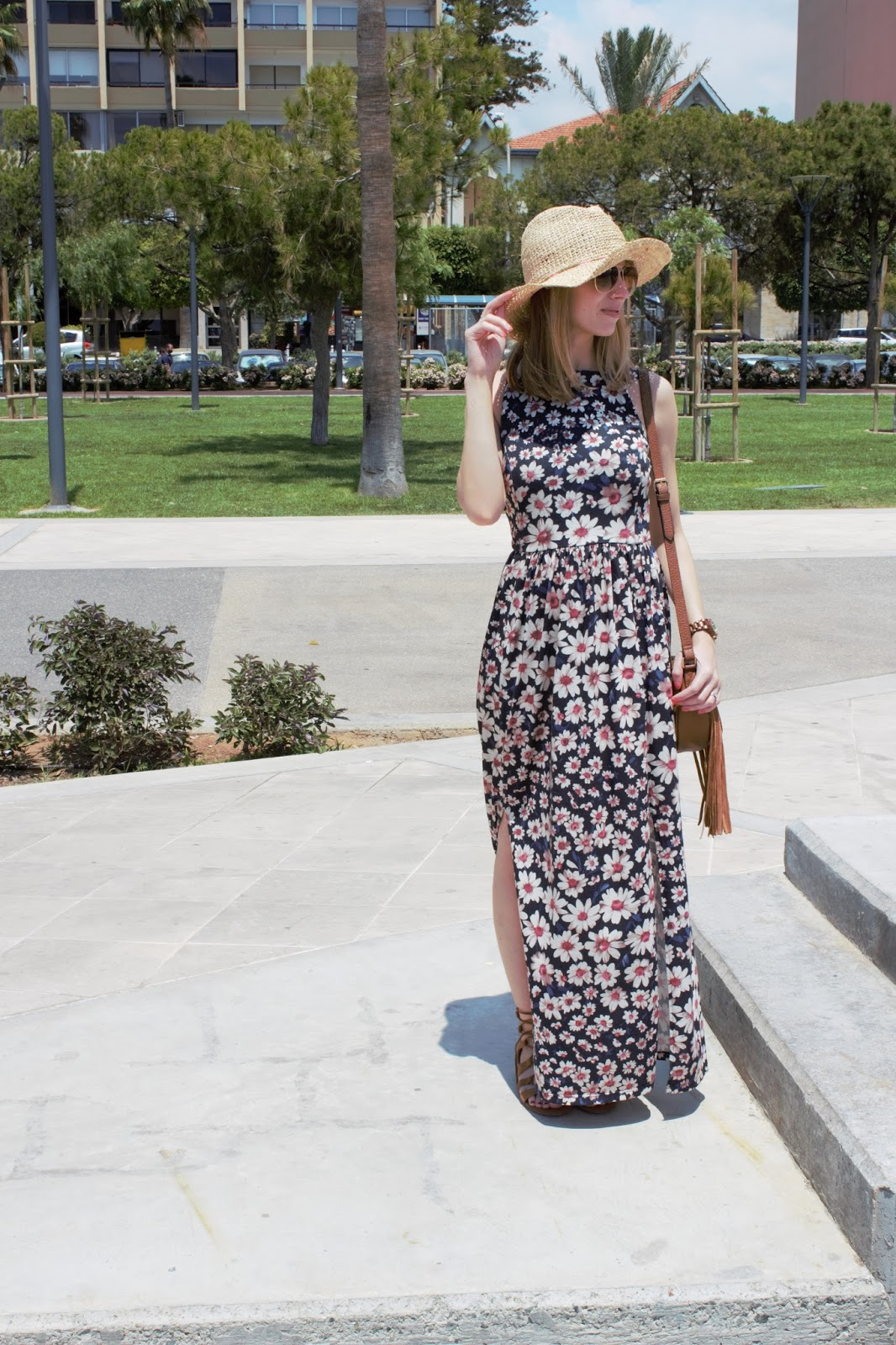 #OOTD featuring Miss Selfridge Maxi Dress