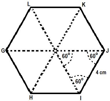 bentuk alas prisma segi enam beraturan