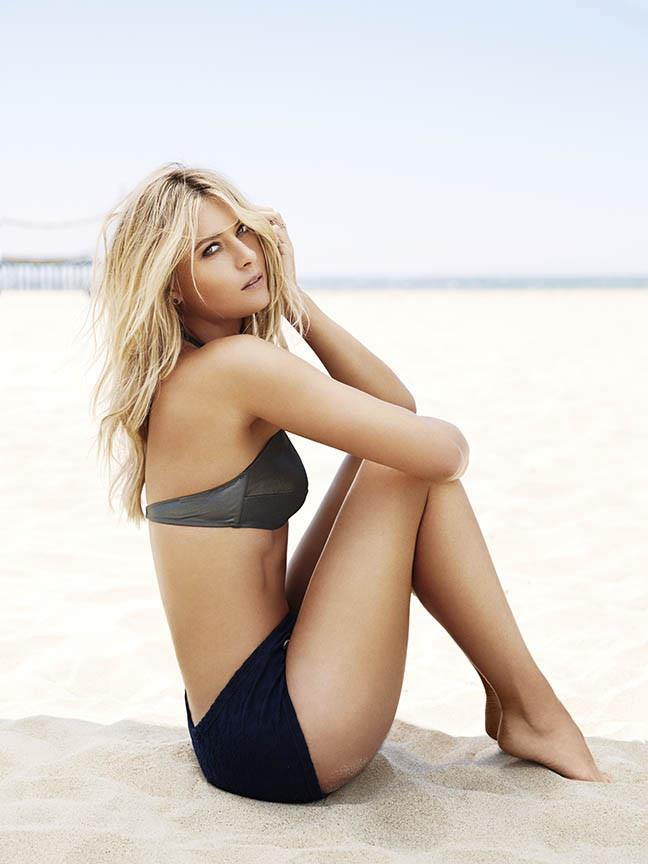 All About Celebrity Maria Sharapova Esquire Photoshoot