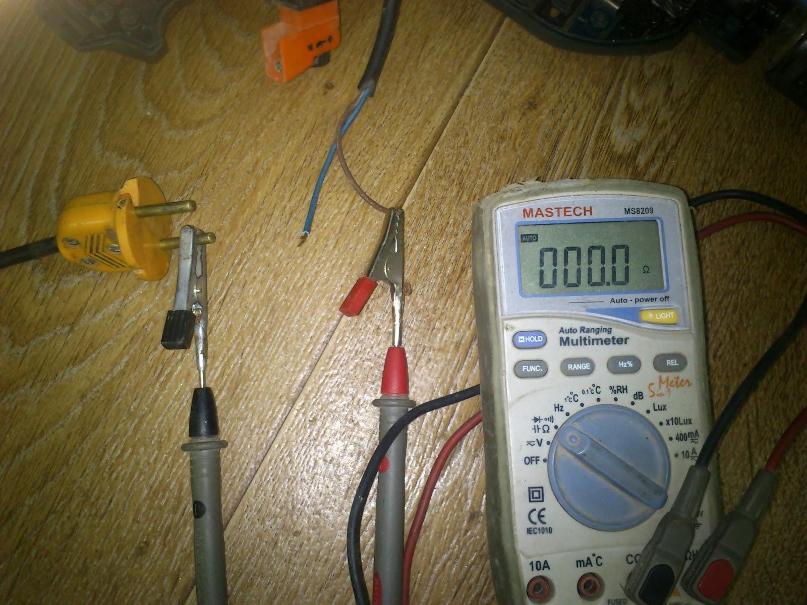 подключение статора на дрели схема