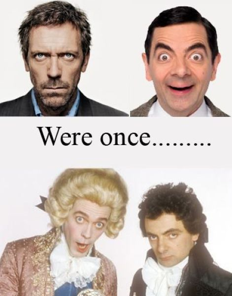 Dr. House And Mr. Bean Were Once These Characters!