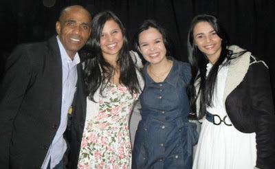 Saulo lana Bianca Sayasy Crislane Souza e  Francielle Miranda