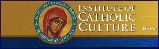 Institute of Catholic Culture Link