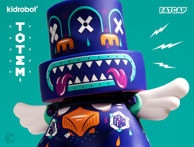 Kidrobot - Totem 6 Inch FatCap by Kronk