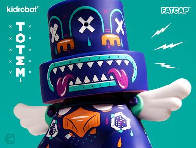 Kidrobot - Totem 6 Inch FatCap by Kronk